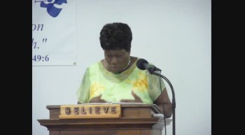 MEN OF THE BIBLE - ABSALOM SON OF DAVID PART 1 Pastor Flora Anderson March 18 2012b