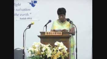 Pastor Flo Anderson SHARING AND ANNOUNCEMENTS March 18 2012h