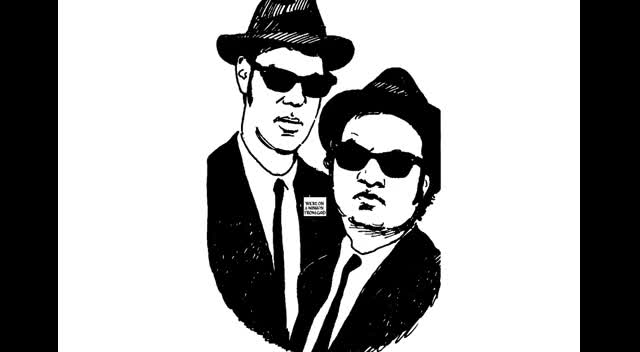 The Blues Brothers on a Mission from God