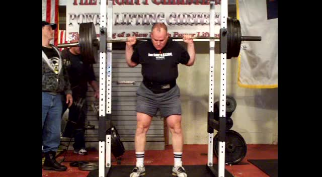 420 pound squat by 50 year old Christian man