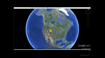 The face of Jesus in Google Earth.