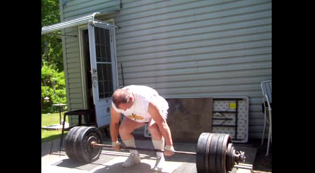 500 pounds lifted by 50 year old Christian man