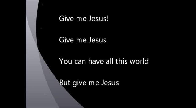 Give Me Jesus - Fernando Ortega - Cover