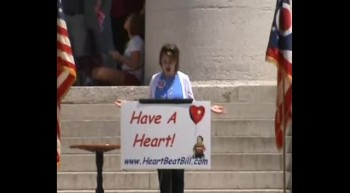 Linda Harvey - Ohio Heartbeat Bill Rally 05-19-12