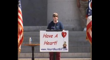 Anne Rea - Ohio Heartbeat Bill Rally 05-19-12