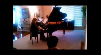 Addie's Recital