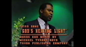 """GOD'S Healing Light!""-Michael Tyrone Boyd"