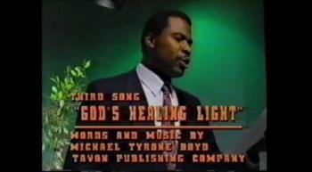 """GOD'S Healing Light!""-Michael Tyrone Boyd"