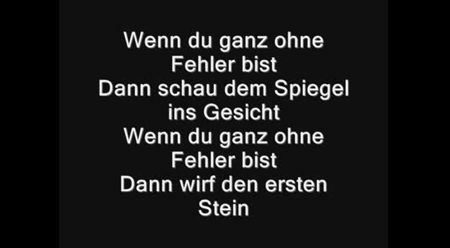 Glashaus vet lyrics