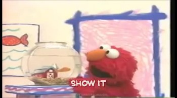 Elmo and I Know it