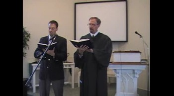 "Hymn: ""I Sought the Lord,"" Waggoner & MacLaren, First OPC Perkasie, PA 5/27/2012"