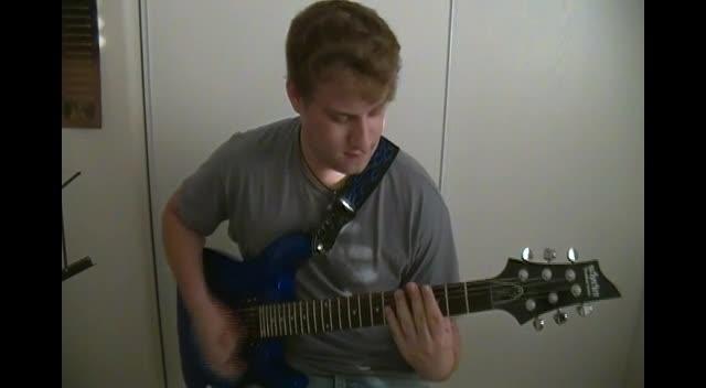 Skillet - Monster - Guitar cover