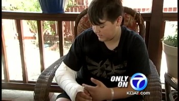 10 Year-Old Hero Takes a Bullet to Save Mother's Life