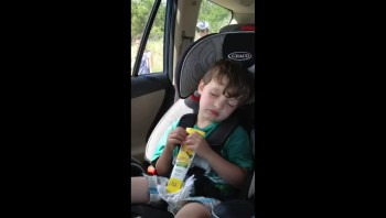 Falling Asleep Eating Ice Cream