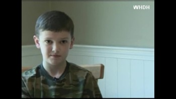 Little Boy Gives His Disney Trip To Family of Fallen Soldier