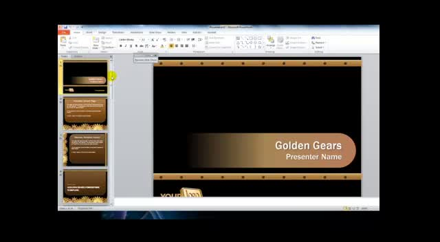 Video Review of Free PowerPoint Templates and Resources