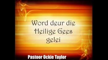Soteria - Word deur die Heilige Gees gelei