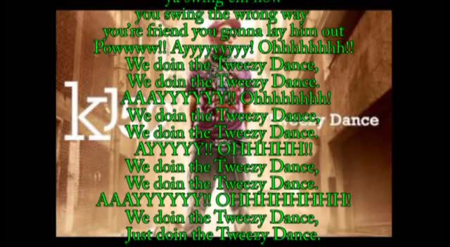 Tweezy Dance- KJ-52