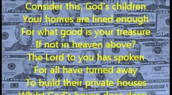 Consider This (Haggai ch1)