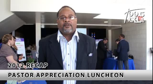 KKLA Pastor Lucheon Testimonials