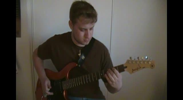 Skillet - Hero - Guitar cover