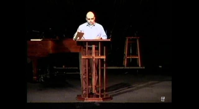 05.27.2012 - The Basics: Building Blocks of Faith - Serving