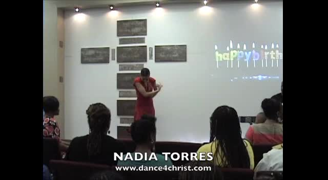 NADIA TORRES MINISTERING: