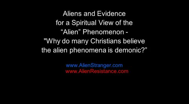 Evidence For a Spiritual Interpretation of Alien Contact (Part 1)