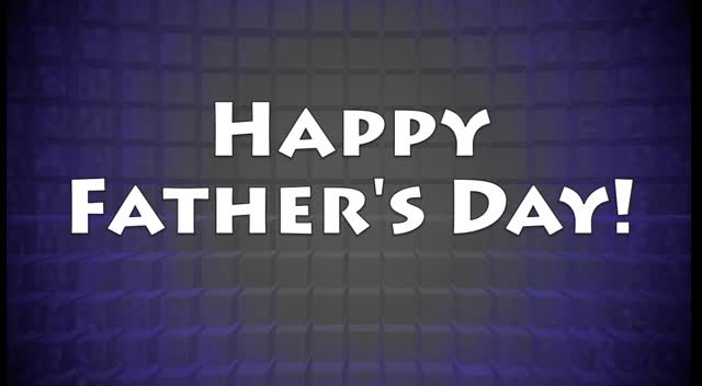 Happy Father's Day Animation