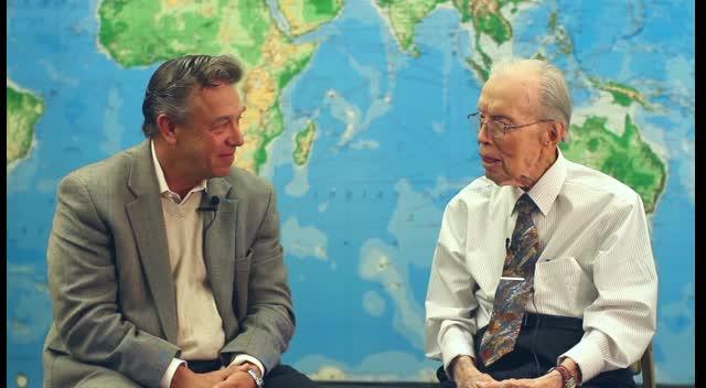 Ed Cannon and Dr. Bob Bowman