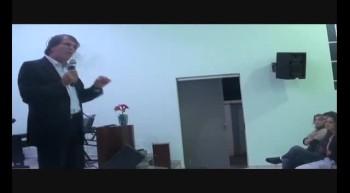 Pr. Paulo Elias em Piumhi. Pregação