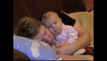 Best of Daddies Sleeping With Babies - ADORABLE!