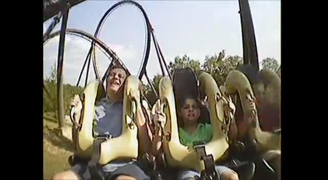 Riding a Roller Coaster