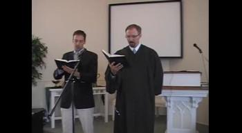 "Special Music: ""Zion, Founded on the Mountains"" Waggoner & MacLaren First OPC Perkasie PA"