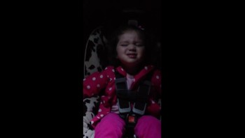 Cute Baby Sings Praise and Wor