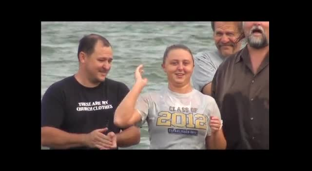 Baptism Kentucky Lake