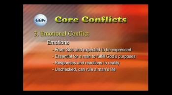 What does the bible say about not dealing with emotion?
