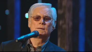George Jones - Just a Closer Walk With Thee (Live)