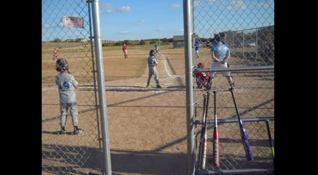 Up to bat with a walk