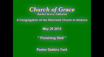 Church of Grace Sermon from May 20 2012.