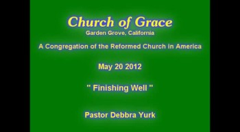Church of Grace Sermon from June 3 2012.