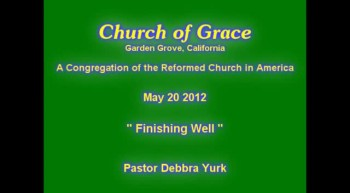 Church of Grace Sermon from June 10 2012.