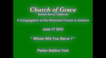 Church of Grace Sermon from June 17 2012.