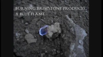 Brimstone (found at Sodom  Gomorrah)
