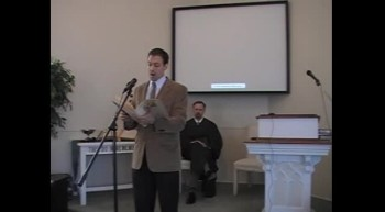 "Special Music: ""The Lord's Prayer,"" Mr. Joseph Waggoner, First OPC Perkasie, PA 6/24/12"