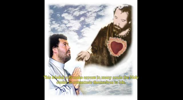 REVELATION OF THE MEDAL OF THE LOVING HEART OF SAINT JOSEPH - JACAREI APPARITIONS' - SP, BRAZIL