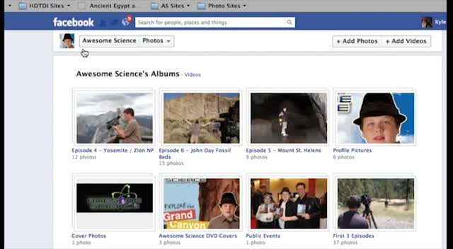 Awesome Science Facebook Tour