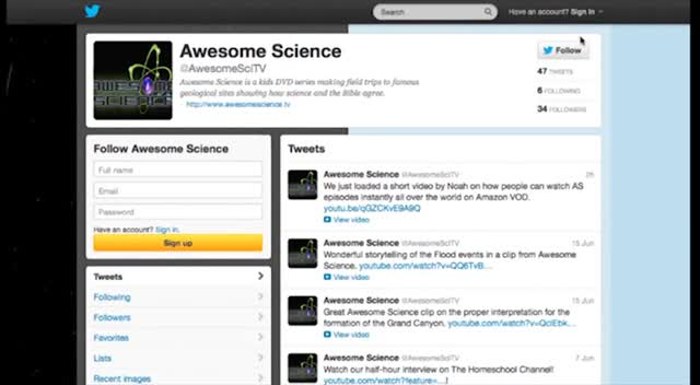 Awesome Science Twitter Tour