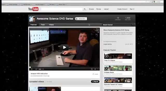Awesome Science YouTube Tour