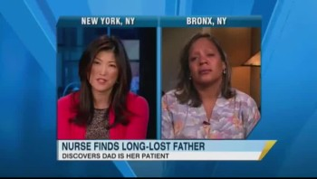 Amazing Reunion! Nurse Discovers Patient is Long Lost Father